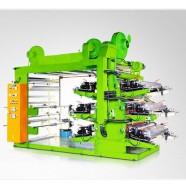 Высокоскоростная шестицветная флексографическая печатная машина